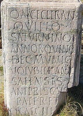 """DEVINETTE """"POUR LES NULS"""" - Page 9 Roman_carved_stone"""